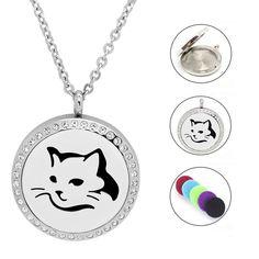 Edelstahlkette mit Katzen Anhänger - Setangebot Washer Necklace, Piercing, Jewelry, Cat Tags, Great Gifts, Sachets, Women's, Jewlery, Jewerly