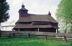 Slovakia, Uličské Krivé - Wooden church