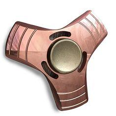 WOOCON Pure Copper Triangle Hand Spinner Fidget Toy Luxur...