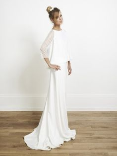 Rime Arodaky - Sienna - Collection 2014 - Robe de mariee sur mesure Paris - La mariee aux pieds nus  - Credit photos Jonas Bresnan