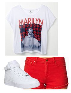 """""""Monroe"""" by mz-fashionable ❤ liked on Polyvore featuring Forever 21 and NIKE"""