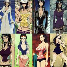 Anime Echii, Anime One, Chica Anime Manga, One Piece Cosplay, One Piece Fanart, Nico Robin, Robin Outfit, One Piece Series, One Piece Drawing