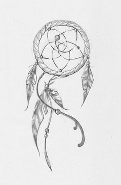 Dream Catcher Outline Dream Catcher Tattoo  Dreamcatcher Tattoos  Visual  Pinterest