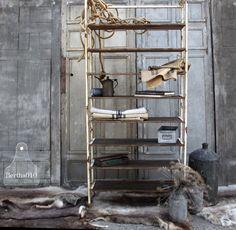 Industriële stellingkast Industrial interior