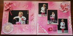 Every picture has a story to tell! Telling Stories, My Scrapbook, Professional Photographer, 3rd Birthday, My Best Friend, Layout, Frame, Pink, Pictures