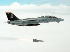 During the late the Tomcat carrier-based multi-role fighter was widely regarded as the most important aircraft in the US Navy. Air Fighter, Fighter Pilot, Fighter Aircraft, Fighter Jets, F14 Tomcat, Grumman Aircraft, Navy Aircraft, Military Jets, Military Aircraft