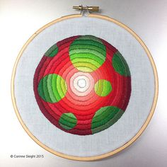 Colourful Satin Stitches  Corrine Sleight