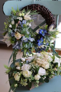 Floral Wreath, Wreaths, Flowers, Home Decor, Floral Arrangements, Flower Crowns, Door Wreaths, Room Decor, Royal Icing Flowers