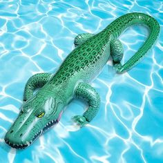 Inflatable Alligator | 22 Ridiculously Awesome Floats