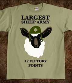 Largest Sheep Army!