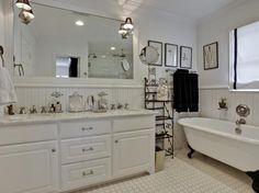 bath love the tub and the floors!