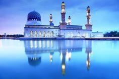 City Mosque, Borneo, Malaysia
