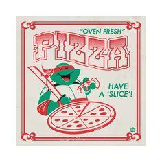 Pizza is definitely better than turtle soup! Teenage Mutant Ninja Turtles Art Show Ninja Turtles Art, Teenage Mutant Ninja Turtles, Logo Musica, Pizza Kunst, Pizza Box Design, Monster Squad, Pizza Art, Happy Vegan, Pizza Boxes