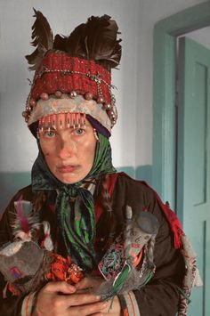 Shaman of Tuva.- Russia  CENTRAL ASIA