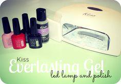 Kiss Everlasting Gel Polish and Pro LED Lamp