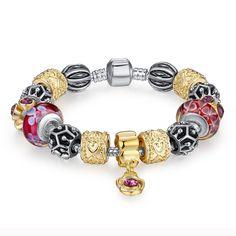 Antique Style Charm Bracelet