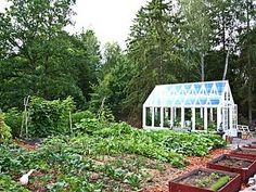 greenhouse in the vegetable garden | Found on translate.googleusercontent.com