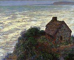 Claude MONET La maison du pêcheur à Varengeville 1882