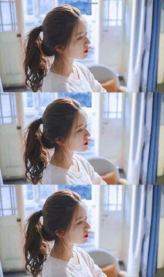 Beautiful Chinese Girl, Best Dramas, Cute Girl Face, Photo Poses, Ulzzang, Cute Girls, Girlfriends, Hair Beauty, Girly
