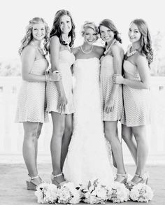 13 Photos You'll Regret Not Taking With Your Bridesmaids..we ♥ this! moncheribridals.com