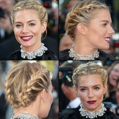 Hollywood Prominente in Red Carpet Zeremonie mit geflochtenen Haaren Red Hair celebrities with red hair Trendy Hairstyles, Braided Hairstyles, Wedding Hairstyles, Red Carpet Hairstyles, Red Hair Celebrities, Hollywood Celebrities, Hair Inspo, Hair Inspiration, Sienna Miller Hair