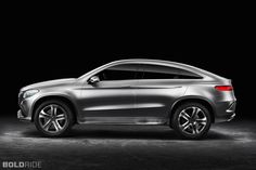 2014 Mercedes-Benz Concept Coupe SUV Images | Pictures and Videos