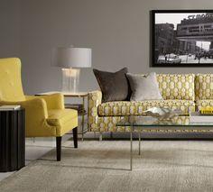 alwinton corner sofa handmade fabric | taupe living room, cream