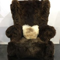 Last day on stand at and Grizzly Bear Chair has managed not to bite anyone! Dare you sit on the bear? Eclectic Chairs, Stool, British, Style Inspiration, Bear, Furniture, Instagram, Bears, Home Furnishings
