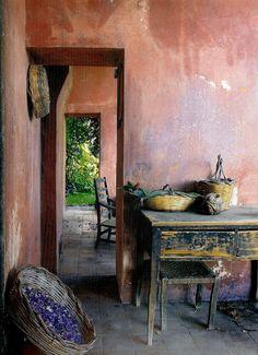 table and limewash.