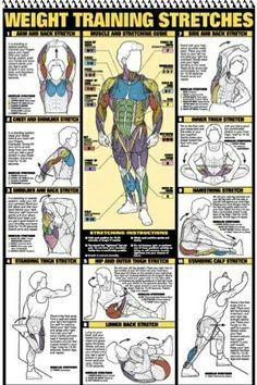 Estirar músculos