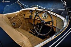 The Car: Alfa Romeo 8C 2900B Lungo Touring Spyder, #412027, 1938 🚗 12cylinders
