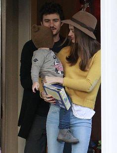 Miranda Kerr, Orlando Bloom and Flynn