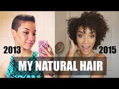 HAIR| My Natural Hair Journey + Length Check - http://naturalhaircaretoday.com/natural-hair-care-today/natural-hair/hair-my-natural-hair-journey-length-check-2/