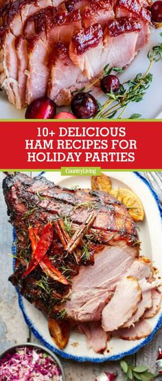 19 christmas ham recipes that will have holiday guests craving seconds