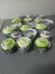 Buzz Lightyear cupcakes 2015