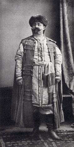 Prince Jean Obolensky,  Ecuyer de la Cour (Costume de gala d'un boyard du district de Bielgorod)....001 by klimbims on deviantART