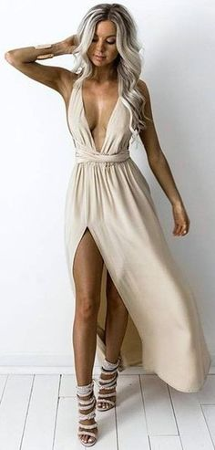 Nearly Naked Silk Multiway Gown                                                                             Source