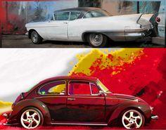 Para quem ama carros clássicos - Designer automotivo expõe trabalhos artísticos em São Bernardo