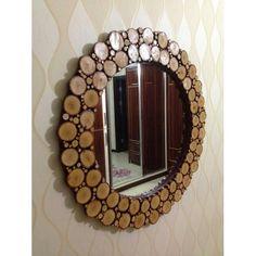 Doğal Odun Ayna