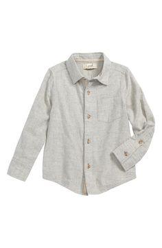 kdimoffphotography.com outfit ideas Main Image - Peek Colin Plaid Flannel Shirt (Toddler Boys, Little Boys & Big Boys)