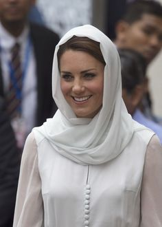 Kate Middleton visits Malaysia's largest mosque