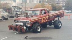 Big Rig Trucks, 4x4 Trucks, Lifted Trucks, Cool Trucks, Cool Cars, Truck And Tractor Pull, Tractor Pulling, 1979 Ford Truck, Ford Pickup Trucks