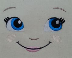 Embroidering Amigurumi Faces : Pin by sharon on stitches pinterest dolls embroidery and doll face