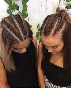 35 Ideas Braids Tight Hairstyles For 2019 35 Ideas Braids Tight Hairstyles For 2019 - Unique Long Hairstyles Ideas Box Braids Hairstyles, Pretty Hairstyles, Hairstyle Ideas, Hair Updo, Braided Hairstyles For Short Hair, Concert Hairstyles, Brown Hairstyles, Kids Hairstyle, Bohemian Hairstyles