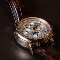 Lange and Sohne Perpetual calendar Chronograph #GPHG
