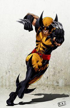 Wolverine by Rai Caraan