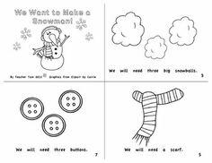 preschool winter worksheets printables | Snowman printable | Preschool Winter