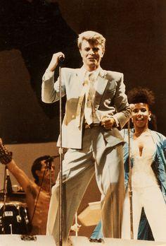 Live Aid 1985 David Bowie Born, David Bowie Starman, David Bowie Ziggy, Live Aid, Major Tom, Soundtrack To My Life, Ziggy Stardust, Miles Davis, Record Producer