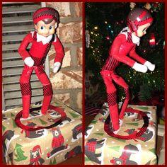 Wrestling Elf on the Shelf