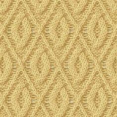 Рельефные узоры спицами со схемами. Образцы узоров для вязания на спицах  